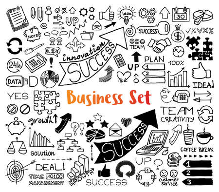 Vector Business Flyer Frame Material Free, Business Icons, Frame Icons,  Vector Border PNG Transparent Clipart Image and PSD File for Free Download