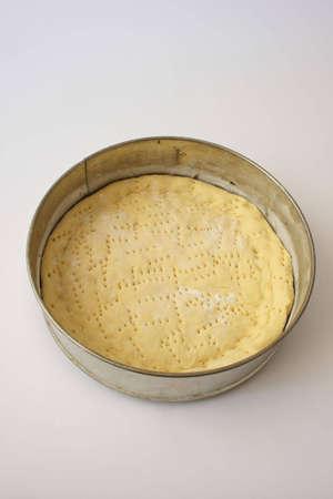 doughy: Dough on a pizza.