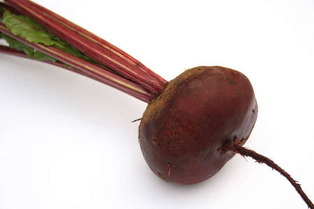 Red beet. It is isolated photo