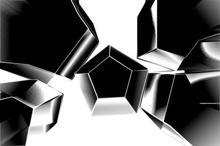 ray tracing: Chrome ice cubes