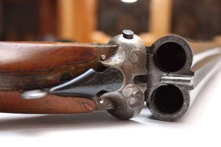 old shotgun photo