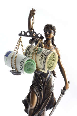 allegorical: allegorical personification of the moral force in judicial systems