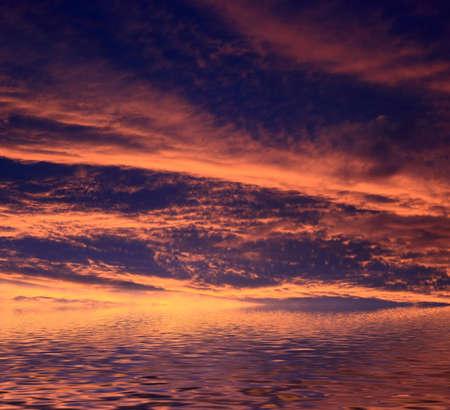 Beautiful sunset at tropical beach. Thailand Stock Photo - 7389433