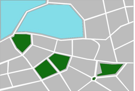 City map photo