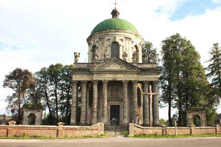 Old Catholic church, Pidgirtsy, Lviv region, Ukraine Stock Photo - 10360570