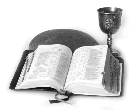 pan y vino: La Biblia, el pan y el vino - s�mbolos de la cristiandad