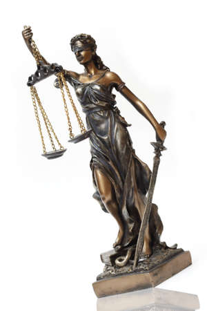 Judiciary. Lady Themis is a symbol of justice. Stock Photo - 10990546