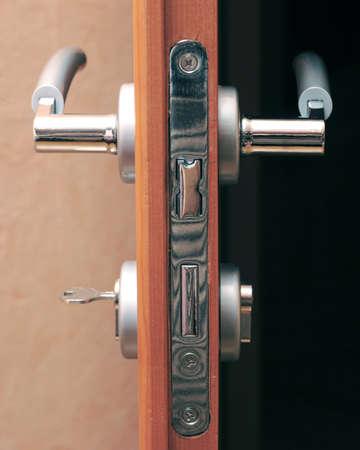 door knob: Door lock