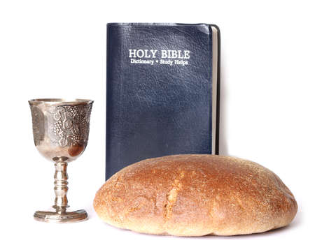 Bread and Wine Bible photo