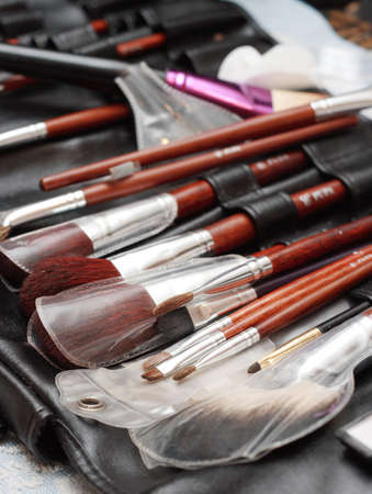 Brushes for cosmetics photo