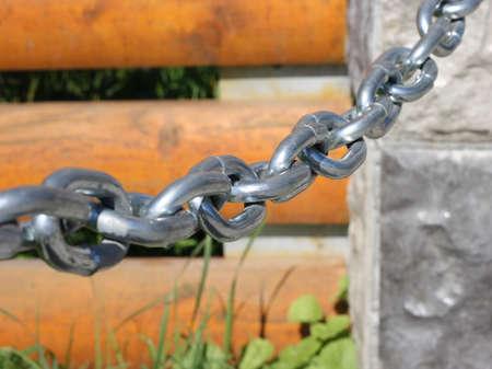 Steel chain photo