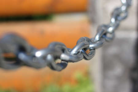 Steel chain Stock Photo - 13474109