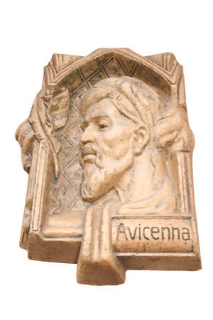 "Abu 'Ali al-Husayn ibn Sina is better known in Europe by the Latinized name ""Avicenna.""  marble statue of Avicenna"