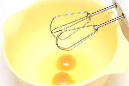 two eggs and the mixer photo