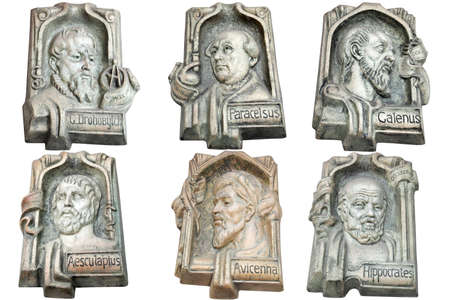 hippocrates: marble monuments of famous doctors of antiquity Editorial