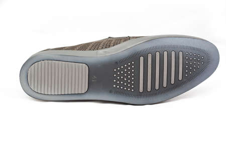 outsole: pair of shoes outsole isolated Stock Photo