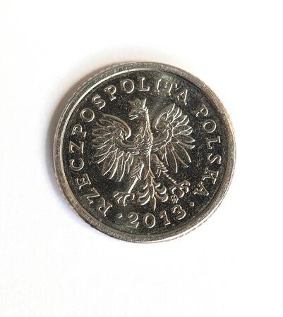 Polnisches Geld Münze Lizenzfreie Fotos Bilder Und Stock
