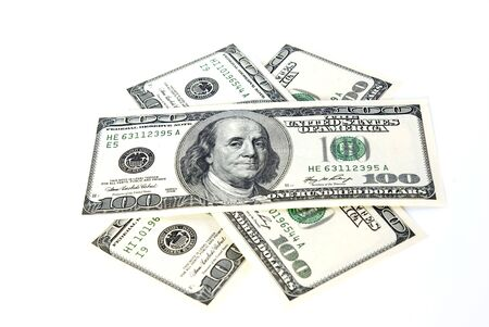 dividend: Money Stock Photo