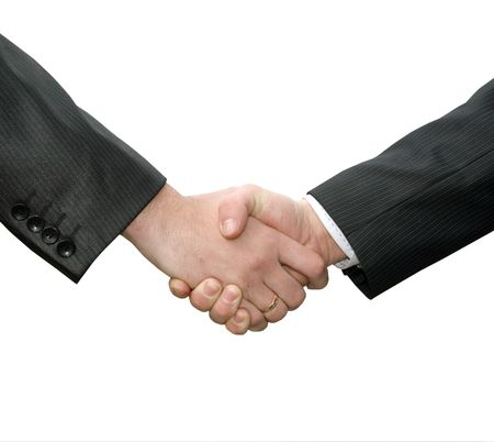 handshake  Stock Photo - 3327282