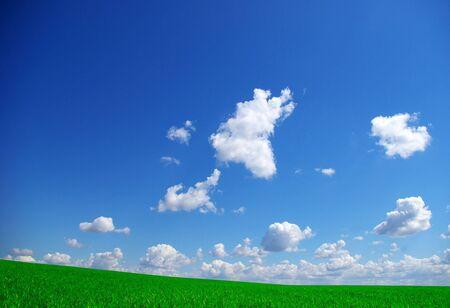 colorful cloudscape:  clouds