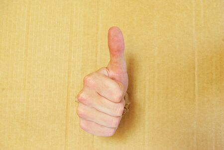 man's thumb: mans hand with thumb up ok signal