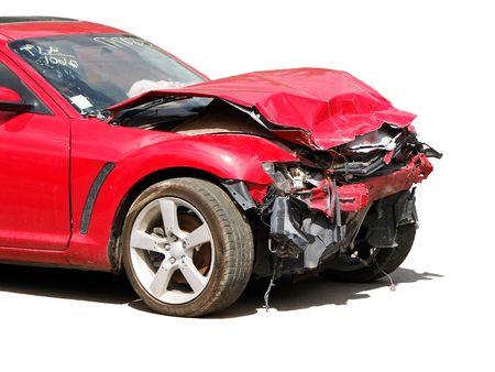 front bumper: wreck