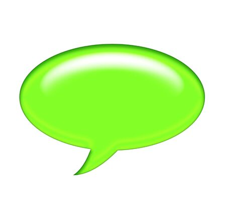 Speech bubbles ready for your text photo