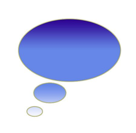 Speech bubble ready for your text photo