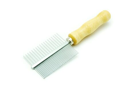 Comb isolated on a white background photo