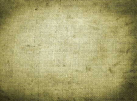 Background old  sack by a large plan Stock Photo - 5391226