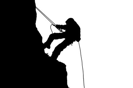 images of climb on a mountain photo