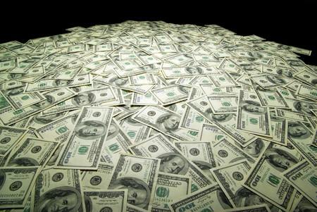 cash money:  Fondo de dinero desde Estados Unidos d�lares. concepto financiero Foto de archivo