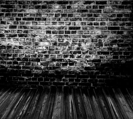 old grunge interior wooden floor Stock Photo - 8718653