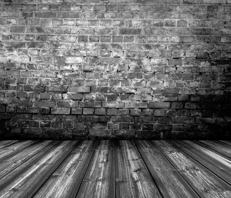 old grunge interior wooden floor photo