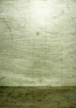 old grunge metal plate steel background Stock Photo - 8997327