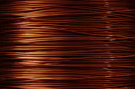 A roll of copper wire Stock Photo - 8997502