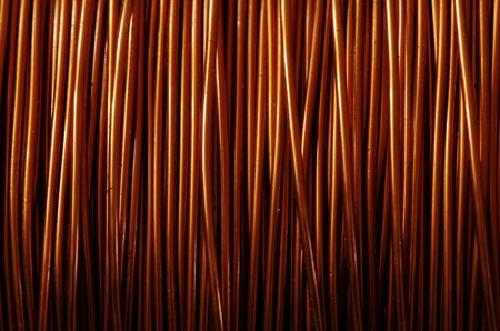 A roll of copper wire Stock Photo - 8996709