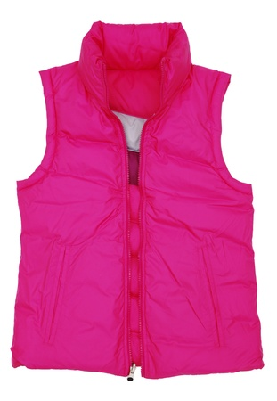 unbutton:  The image of  jacket under the white background