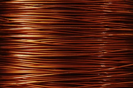 A roll of copper wire Stock Photo - 9062051