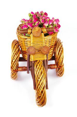 universal love: Jarrón con flores decorativas de bicicletas