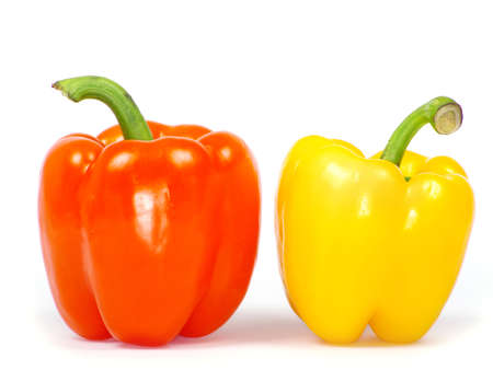 pimento: pepper  isolated on a white background Stock Photo