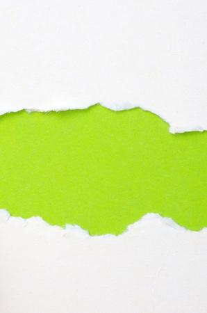 gescheurd papier: gescheurd papier met ruimte voor uw bericht Stockfoto