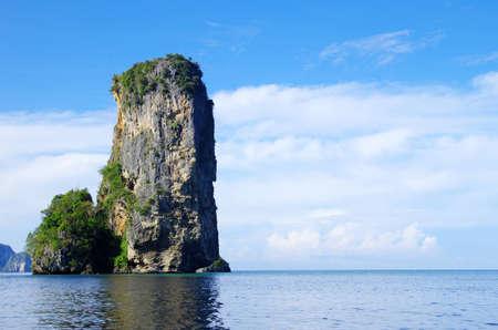 rocks and sea in Krabi Thsiland Stock Photo - 12792848
