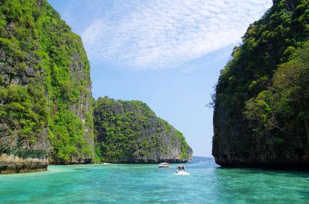 landscape of tropical island Thsiland photo
