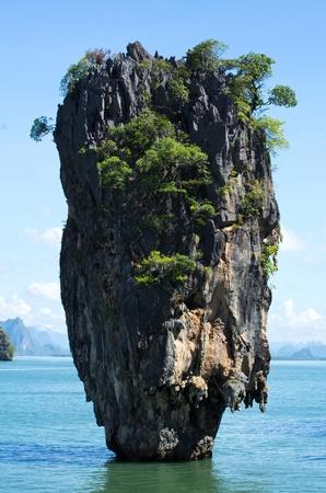 james bond island in thailand photo