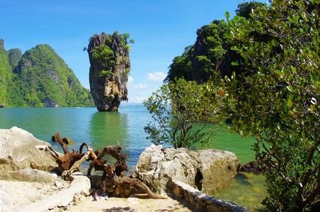 james bond island in thailand Stock Photo - 12883349