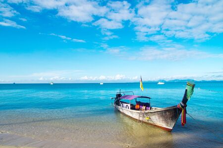 boats and islands in andaman sea Thailand Stock Photo - 12982515