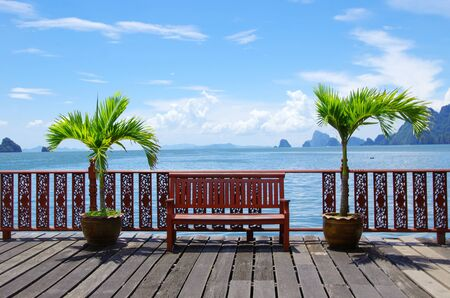 Beautiful tropical sea, Krabi Thailand Stock Photo - 12982475