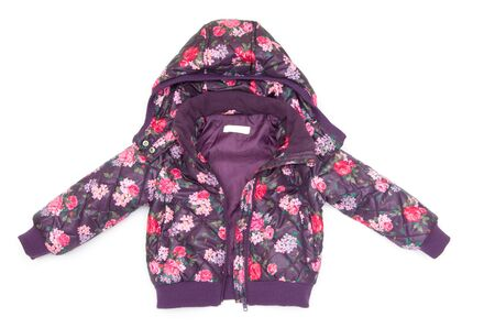 childrens jacket isolated on white Stock Photo - 13053106