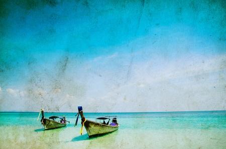 Tropical beach, Andaman Sea, Thailand Stock Photo - 13127558